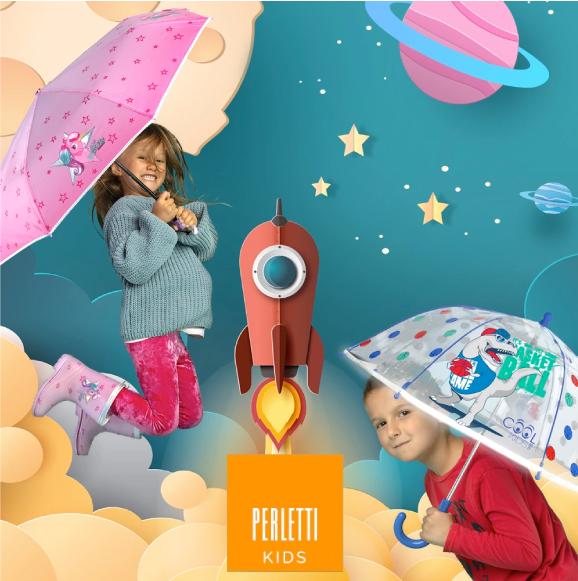 Perletti Ombrelli KIDS Personalizzabili