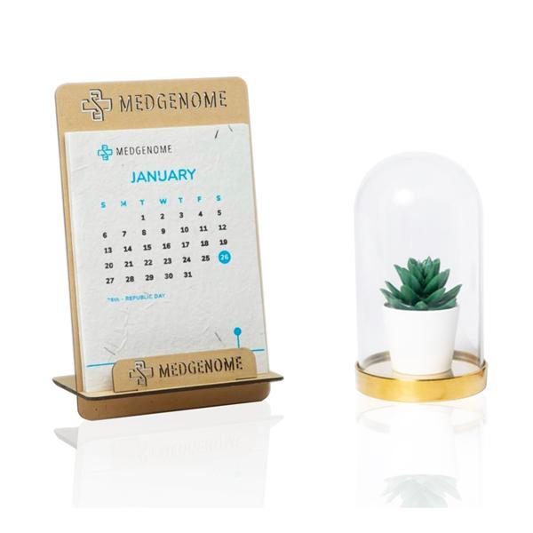 Calendario Piantabile SEED PAPER (Carta con semi) Corthogreen