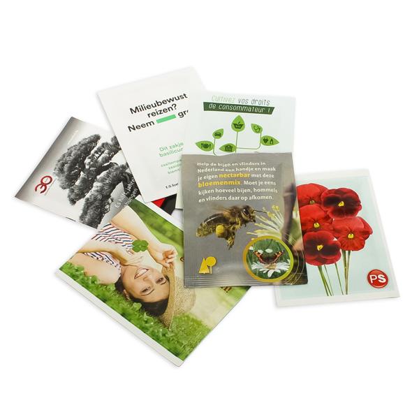 Seed Bag Bustine personalizzabili con semi Corthogreen
